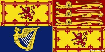 British Royal Standard  (Scotland)
